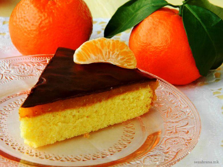 торта со мандарини