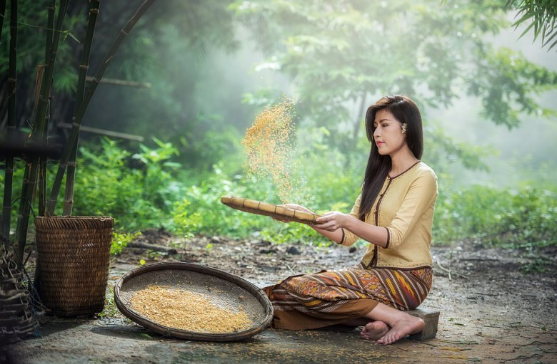 Како да направите оризова вода за подобро здравје на косата и кожата 2