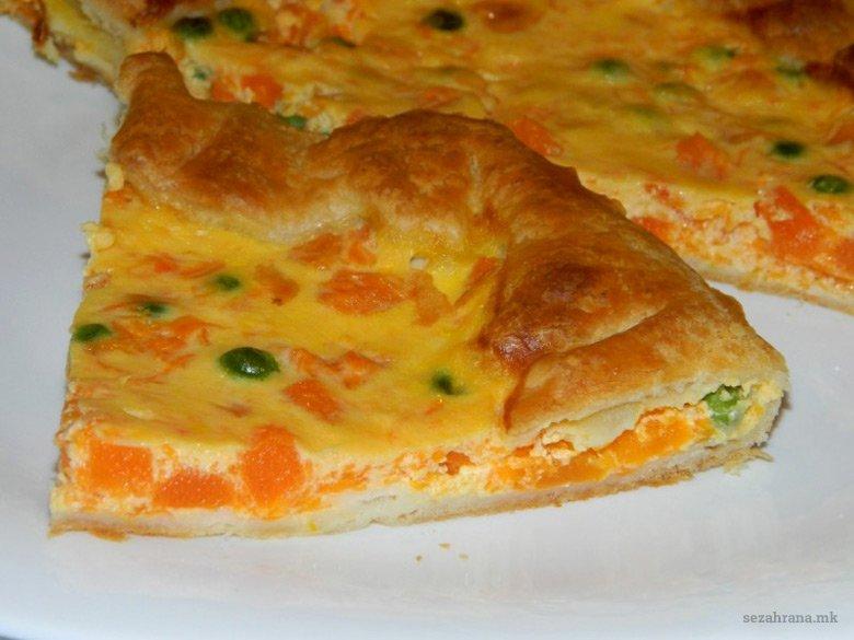 Брза пита од лиснато тесто со тиква 2