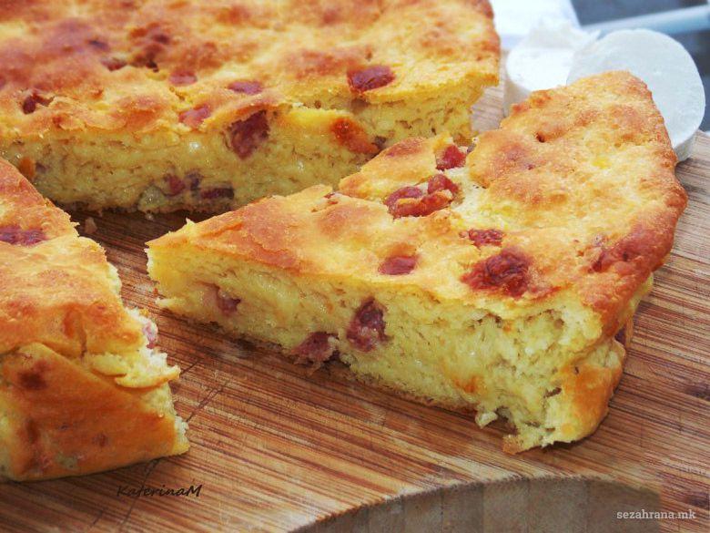 солена торта со компири