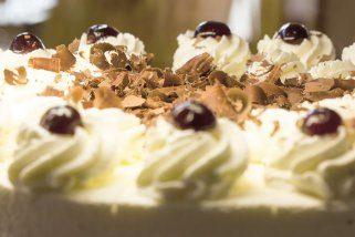 Непечена кремаста торта со бисквити 1