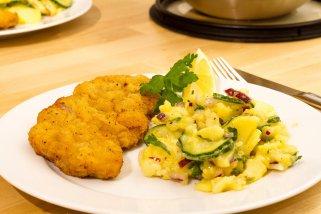 Рецепт за познатите Виенски шницли 1