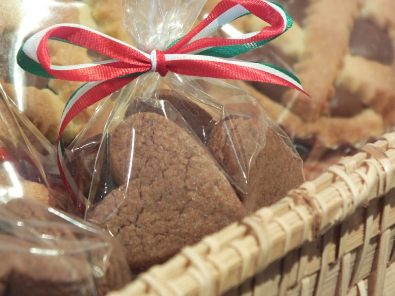 Домашни чоколадни бисквити во форма на срце 2