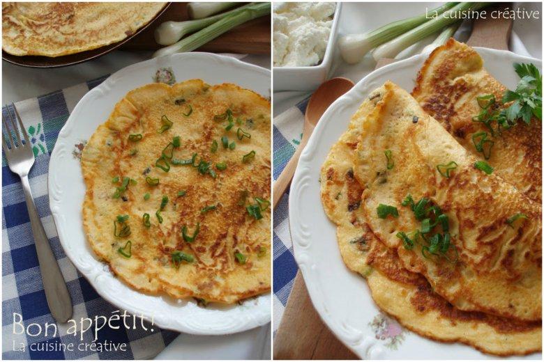 Омлет палачинки со сирење 2