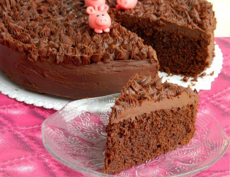 Чоколадна кал торта 2