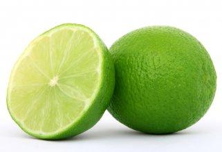 зелен лимон лимета