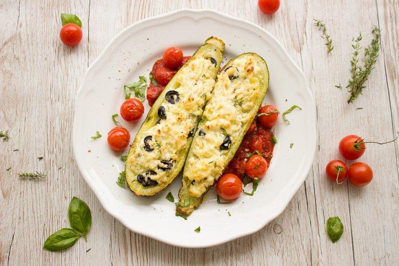 Чамци од тиквички со зеленчук 2