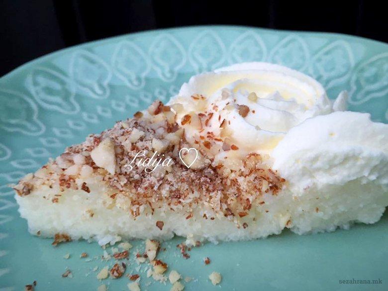 Традиционален рецепт за сочна либанска торта со гриз 2