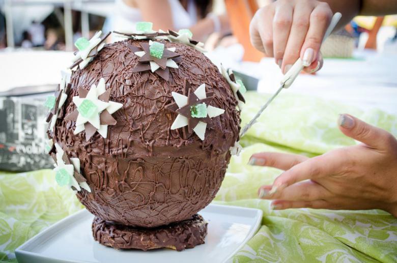 торта за креативна работилница