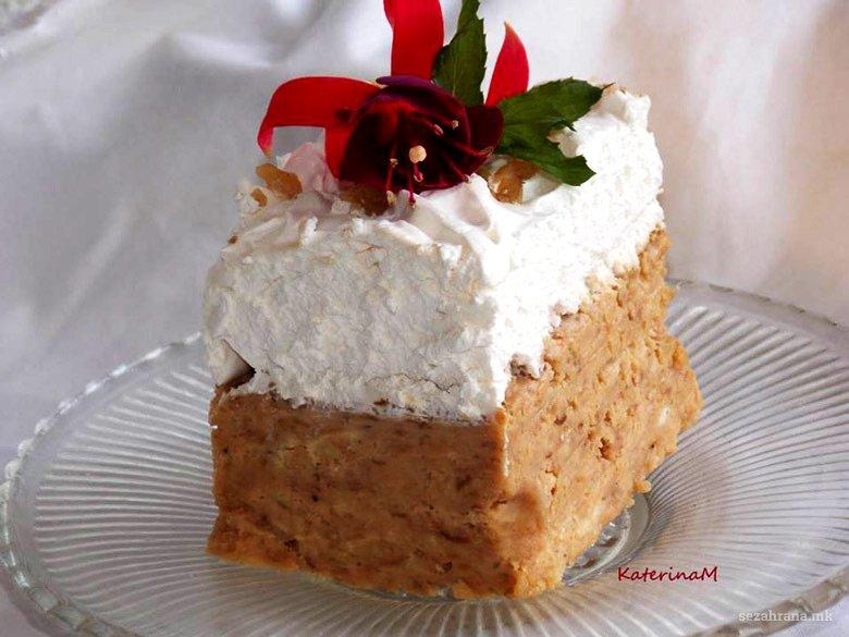 непечена торта со диња