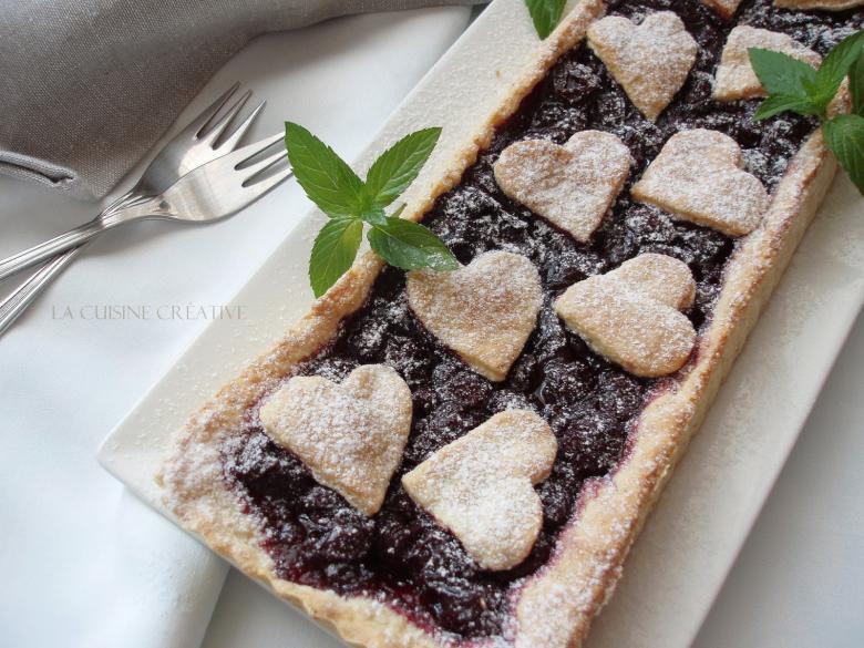 тарт со вишни