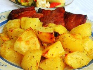 зачинети печени компири
