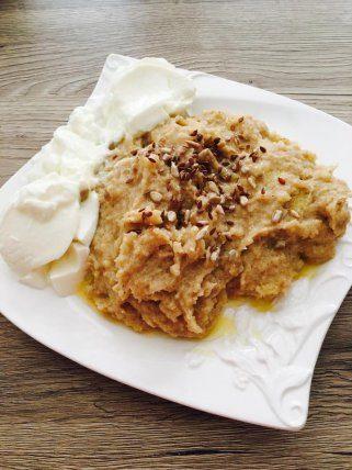 Качамак од jачменово брашно и кисело млеко - хроно рецепт 1
