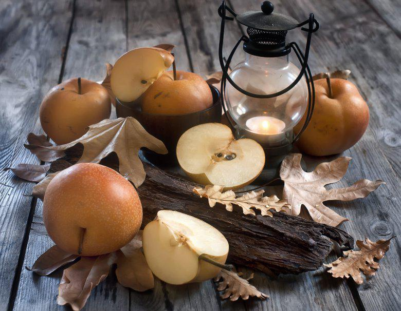 есенска ароматична свеќа