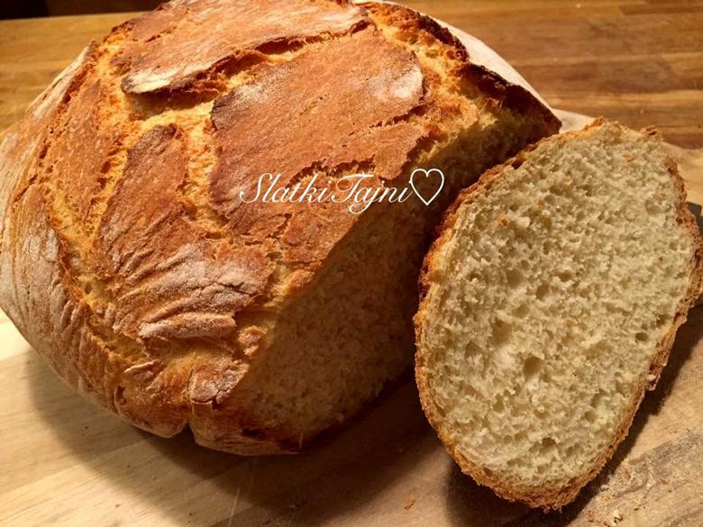 печен леб во тенџере