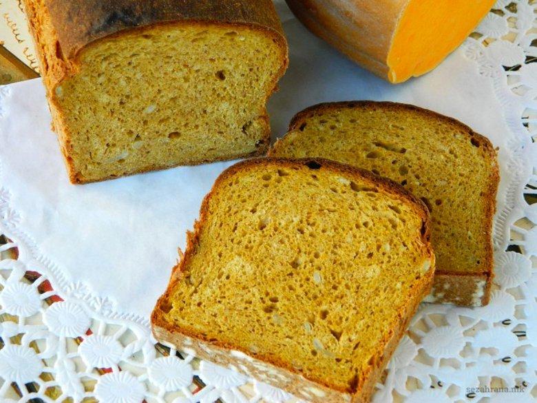 Посен интегрален леб со тиква 2