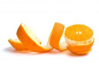 прав од кора на портокал