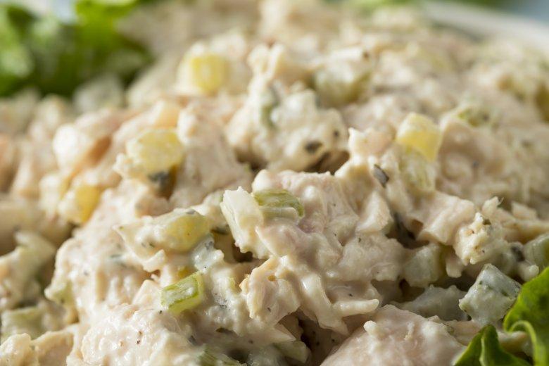 Пилешка крем салата 2