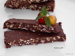 Здрави чоколадни плочки 1