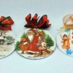 новогодишни лампиони од CD