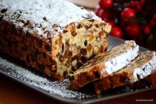 Празничен леб со суво овошје 1