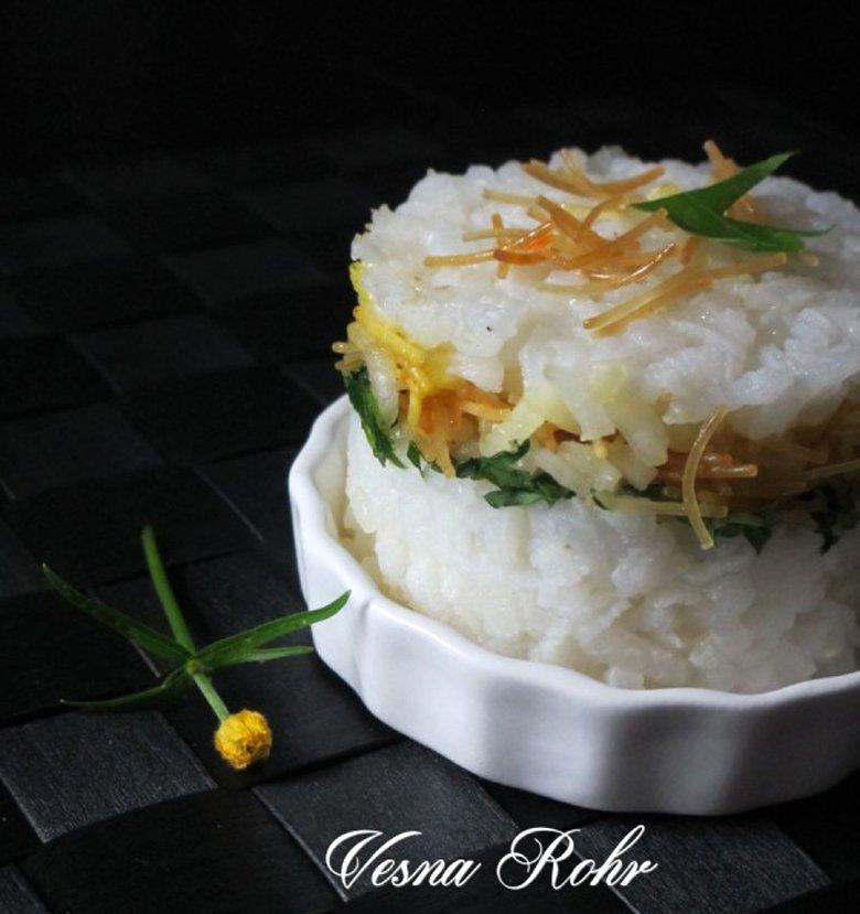 Декоративен ориз со фиде 2