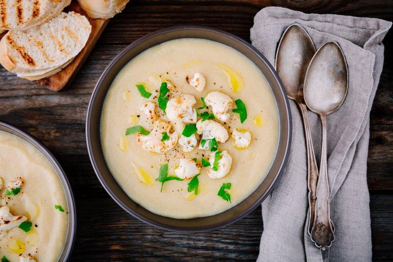 Вкусна крем супа од карфиол 2