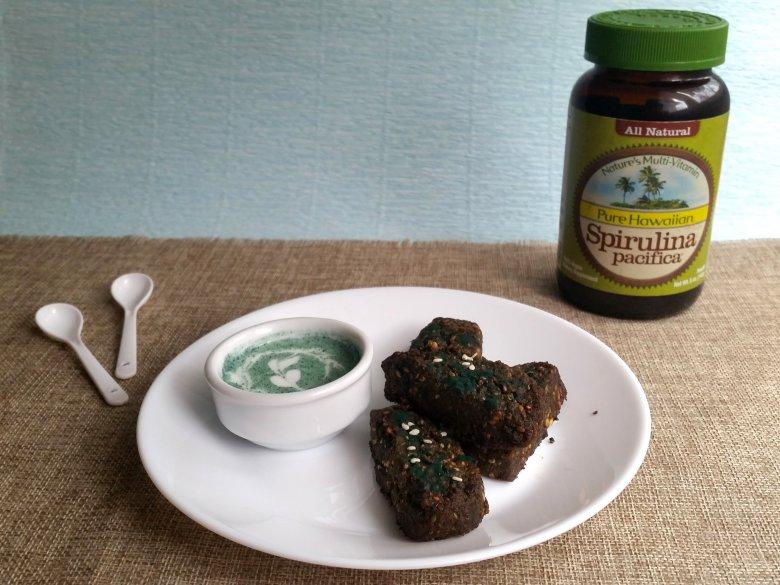 Здрави солени бисквити со спирулина 2