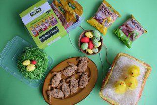 Посни Велигденски зајачиња со 5 семиња 1