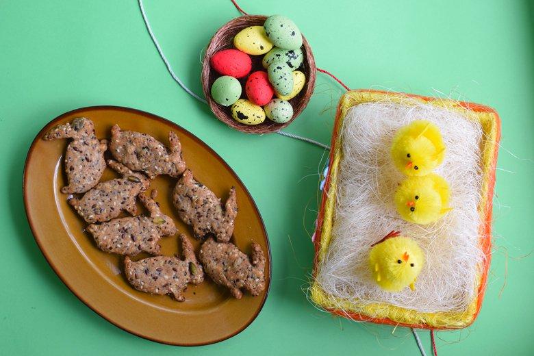 Посни Велигденски зајачиња со 5 семиња 2