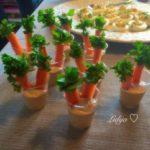 Велигденски хумус во чаши 1