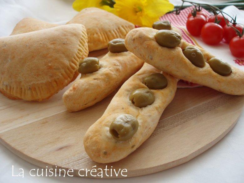 лепчиња со маслинки