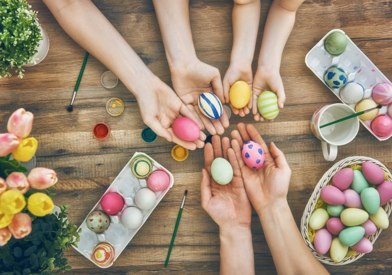 Натпревар за избор на најубаво украсени велигденски јајца и празнична трпеза 2