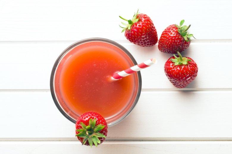 густи сок од јагоди