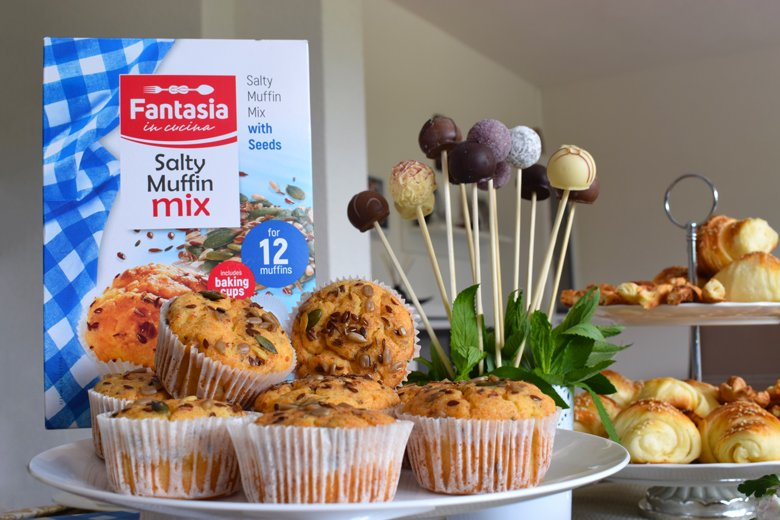 солени мафини од Fantasia