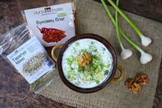 Таратур салата - мезе и оброк 1