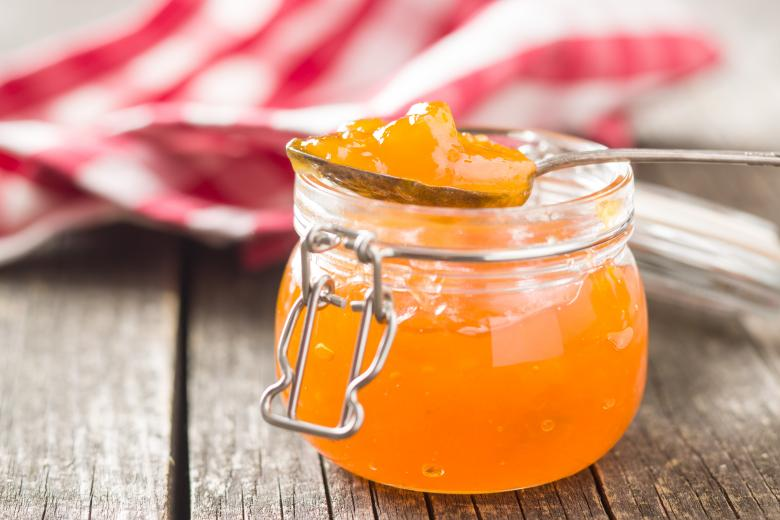 мармалад од праски со мед