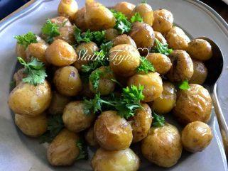 печени млади компири