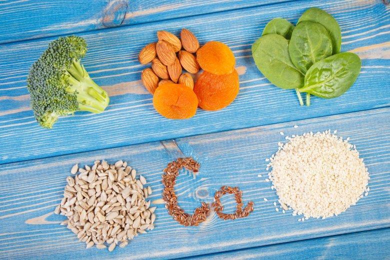 недостаток на калциум и растителни извори