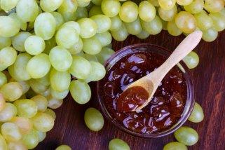 Домашен џем од бело грозје 1