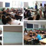 """Сѐ за храна одржа едукативно предавање во училиштето """"Коле Канински"""" 1"""