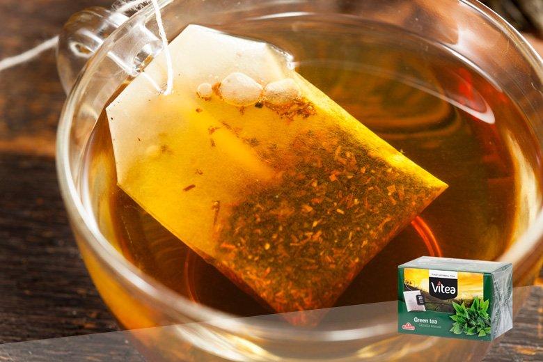 Купка од зелен чај за заштита од штетните радикали и помали пори на кожата 2