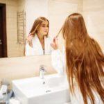 расцветени краеви на косата
