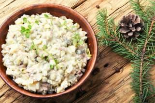 рецепти за посни крем салати