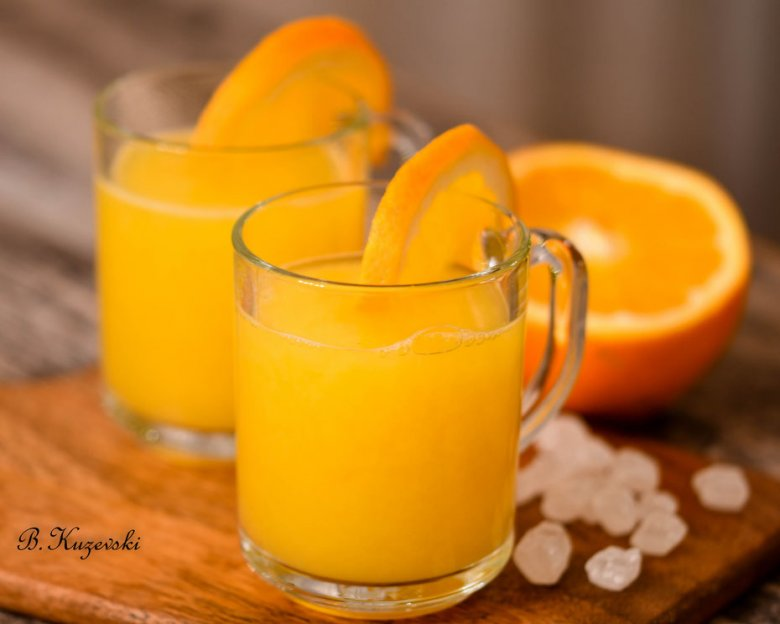 зимски пунч од портокали