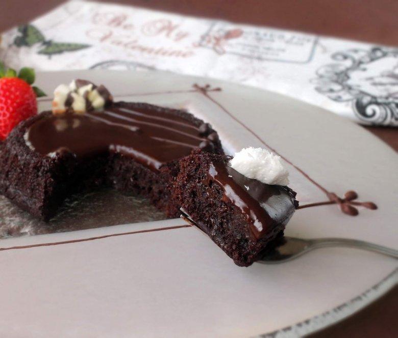 чоколаден тарт без брашно