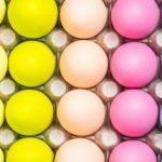 Омбре велигденски јајца 1