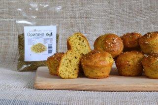 Едноставни солени мафини со оригано 1