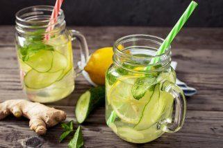 Детокс сок од краставица и ѓумбир 1