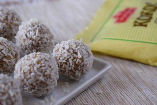 Посни кокос бомбици без шеќер за 10 минути 1